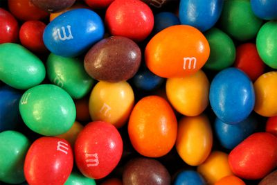 Snickers bars and peanut M&M's: Source of protein