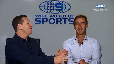 State of Origin: Andrew Johns plays Maroons coach for a day