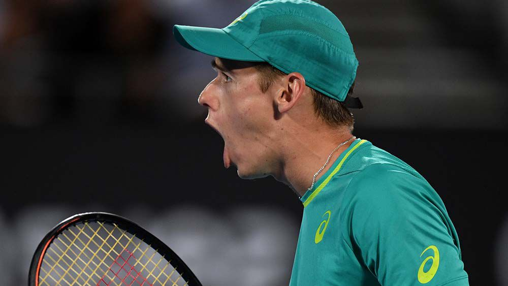 Diminutive 'Demon' de Minaur ready for Aussie Open test