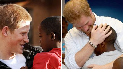 Prince Harry, 2004 and 2015