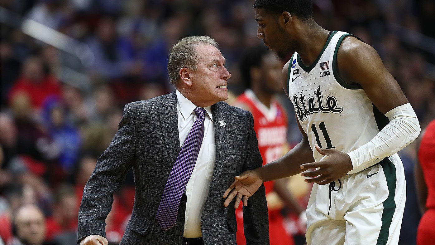Michigan State coach Tom Izzo unleashes on freshman in near-physical confrontation