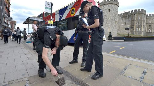 Extra police have been checking the streets of Windsor.