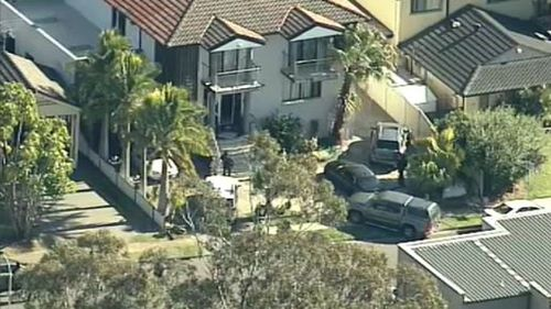 The home in Bossley Park. (9NEWS)