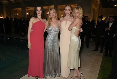 <p>Rachel Weisz, Melanie&nbsp;Laurent, Emily Blunt and Sienna Miller</p>