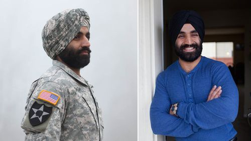 Sikh US army officer awarded the right to serve with beard and turban