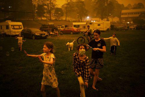 """Bushfire Evacuation Centre"" by Sean Davey for Agence France-Presse"