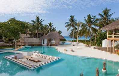 Soneva Fushi's nine-person villa in the Maldives