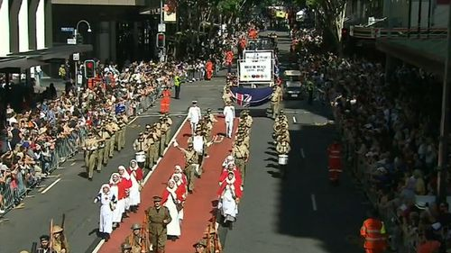Security for Anzac Day events across Queensland has been increased following the vehicle-borne attack in Toronto, Canada. Picture: 9NEWS.