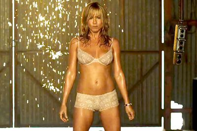 45-year-old Jennifer Aniston stripped for 2014 film <i>We're the Millers</i>...and looked amazing!