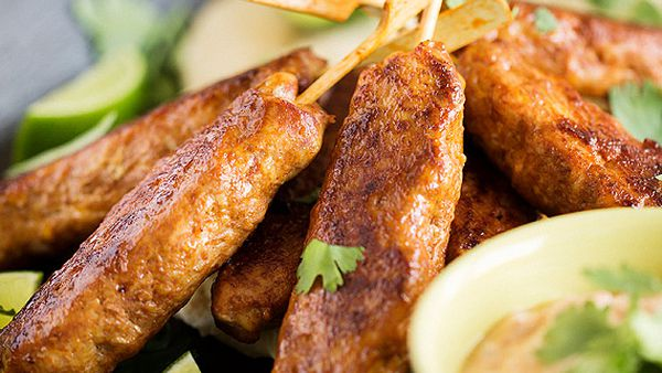 Marion Grasby's Indian chicken kebabs