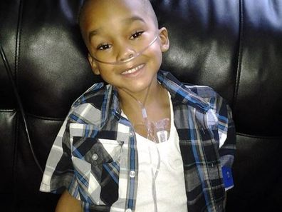 Christopher was subjected to over 13 major surgeries by his mother, who is now facing up to 20 years in prison