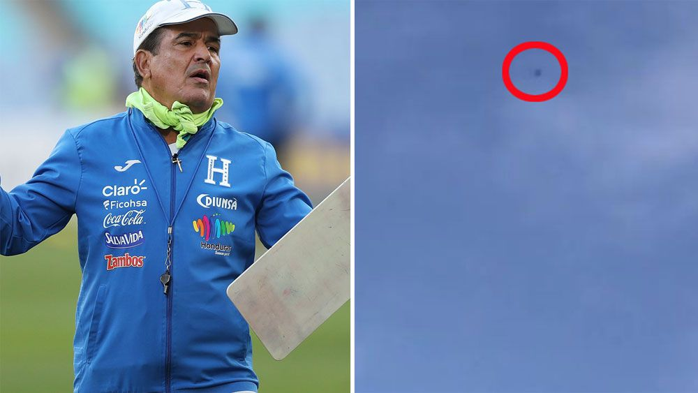 Honduras accuse Socceroos of spying after drone filmed during training session at ANZ Stadium