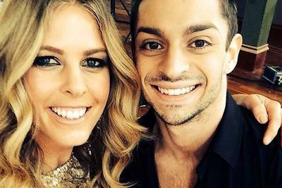 @torahbright: So excited for the journey ahead! #DWTS Australia! Meet @robbiekmetoni my dancing partner! Let the FUN begin!