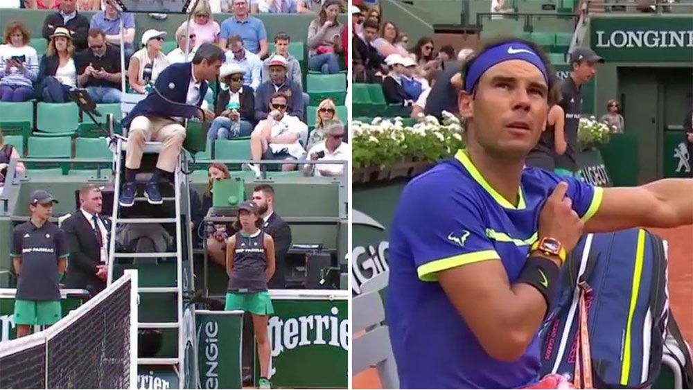 Rafael Nadal wants more time between points following penalty at French Open