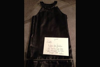 "@kimkardashian: ""This is so to die!!! Thank you Alex! can't wait for North to wear this! #AlexanderWang"""