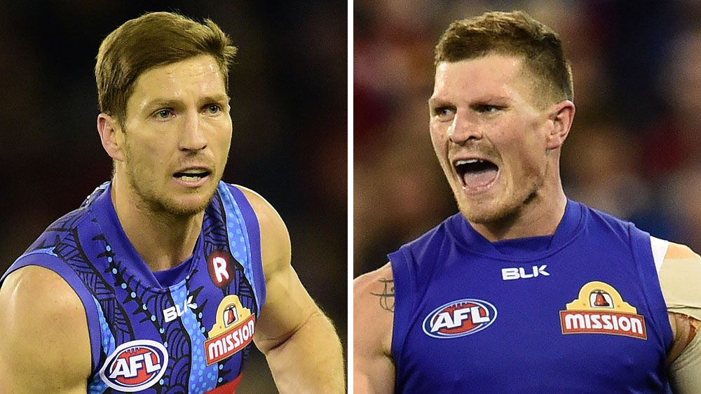 Bulldogs pair offered one-week AFL ban