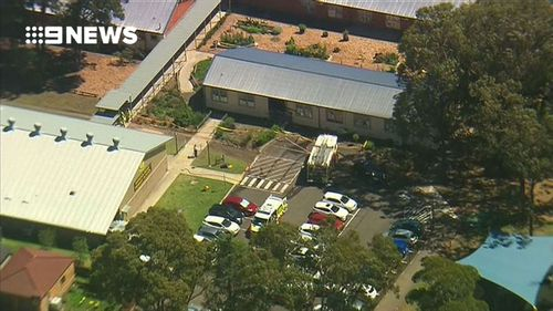 Two eight-year-old boys were killed in the crash. Three young girls are in a stable condition in hospital. (9NEWS)