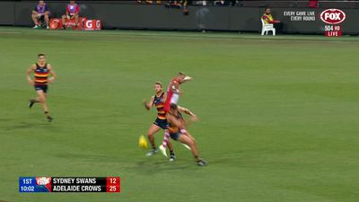 Undermanned Adelaide Crows turn in gutsy performance to outclass Sydney Swans in AFL thriller