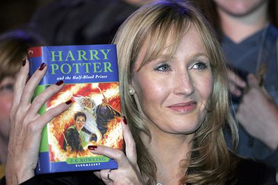 """She's arguably the most well-known female author of our time, but J. K. Rowling's first manuscript for <i>Harry Potter and The Philosophers Stone</i> was rejected by a dozen publishers before it was picked up by Bloomsbury.  <br/><br/>Speaking of these early failures in her <a href=http://news.harvard.edu/gazette/story/2008/06/text-of-j-k-rowling-speech/>Harvard Commencement Address</a>, Rowling stated: """"It is impossible to live without failing at something, unless you live so cautiously that you might as well not have lived at all – in which case, you fail by default.""""<br/>"""