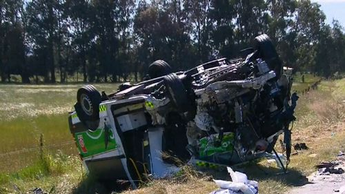 Ten Haaf pleaded guilty to dangerous driving causing grievous bodily harm. (9NEWS)