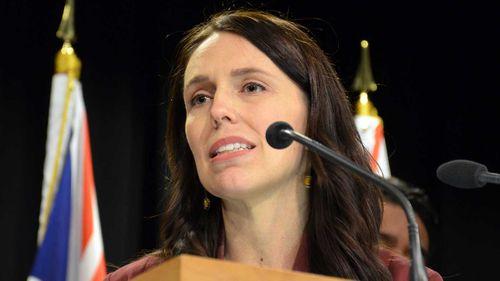 Jacinda Ardern. (AAP)