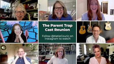 The Parent Trap, reunion, Instagram, Katie Couric