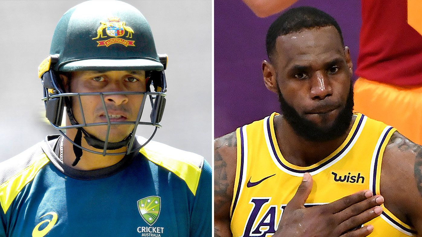 Usman Khawaja LeBron James
