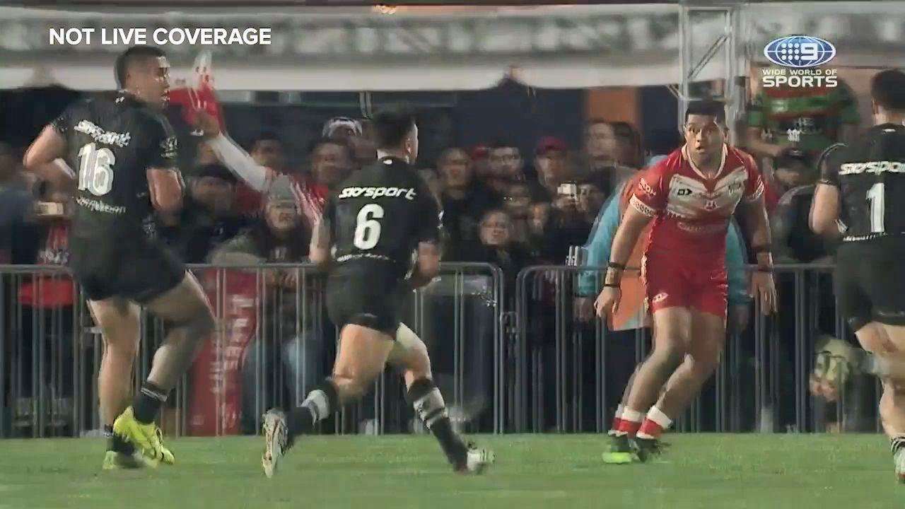 'Magic Johnson' inspires Kiwis to convincing win over Fifita-less Tonga