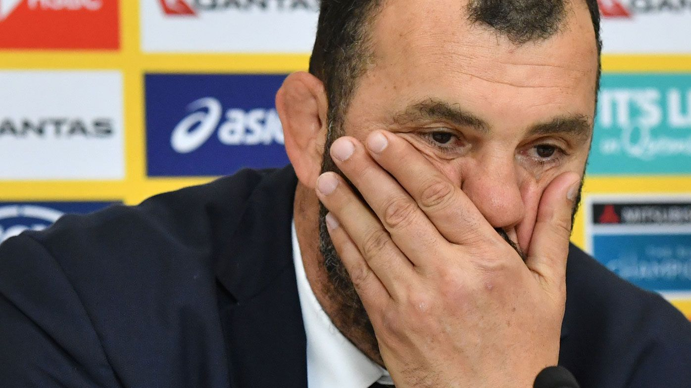 Wallabies coach Michael Cheika blames social media for contributing to poor form in 2018