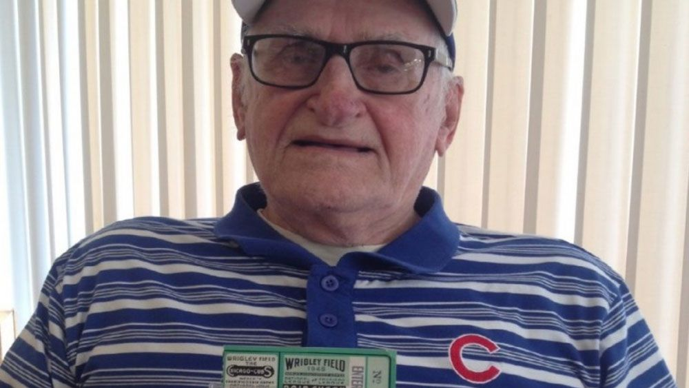 WWII vet given World Series tickets