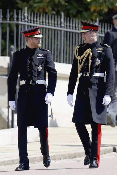 Prince Harry has admitted he and William have their good days and their bad days.