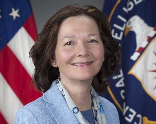 In the game of musical chairs, replacing Mike Pompeo as head of the CIA is Gina Haspel who becomes the first woman to head the spy agency.  (AP)