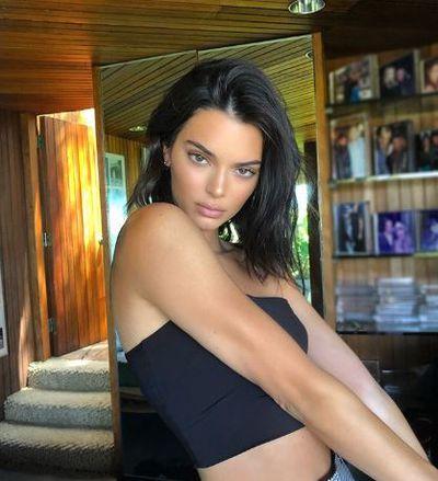Model Kendall Jenner in July 2018
