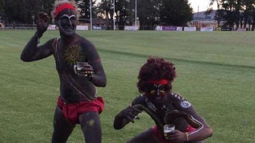 'Redneck scumbags' facing backlash over Aboriginal blackface