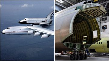 The Mriya aircraft has a cult following around the world, but its incomplete sister lies in a giant Ukraine warehouse.