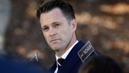 NSW Labor MP Chris Minns blamed his resignation on reports the office of the deputy leader of the Labor Party distributed a dirt dossier on him.