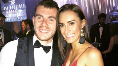 Luke Shuey and Danielle Orlando