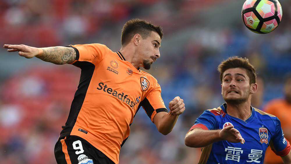 Brisbane Roar striker Jamie Maclaren. (AAP)