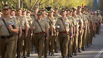 190425 Anzac Day Australia commemoration city marches armed services