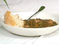 Puy lentil cassoulade with italian pork sausages