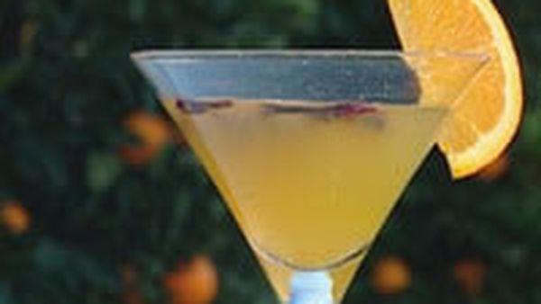 Orange martini