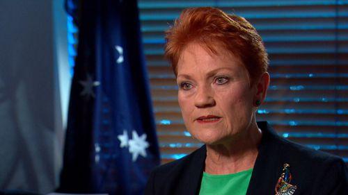 Pauline Hanson says she has grown wiser as she's grown older.