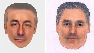 E-fit of man the Smith family from Ireland said they saw on the night Madeleine McCann vanished.