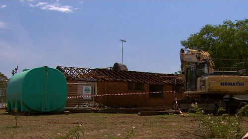 Some residents had taken the government to court in a bid to save their homes from the bulldozers. (9NEWS)