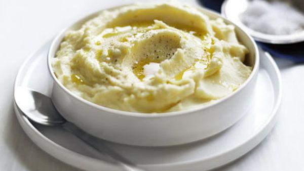 Brigitte's luxe mashed potato
