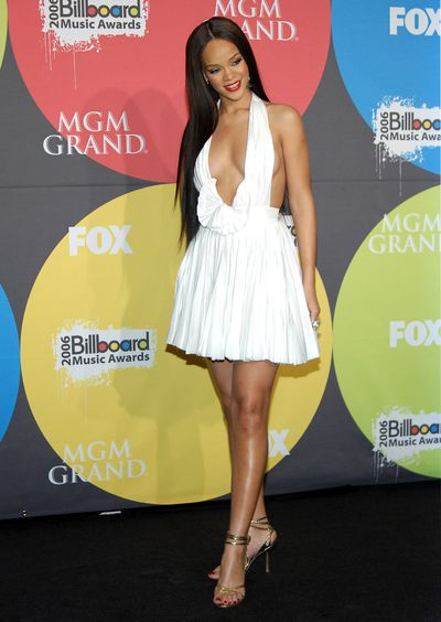 Rihanna in Zac Posen at the 2006 Billboard Music Awards