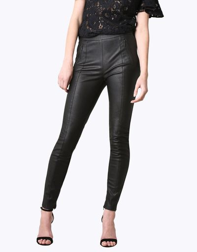 """Rock on in PU<br> <br> <a href=""""https://www.theiconic.com.au/zelda-pants-387939.html"""" target=""""_blank"""" draggable=""""false"""">Rodeo Show polyurethane Zelda Pants,$199.95 at The Iconic</a><br>"""