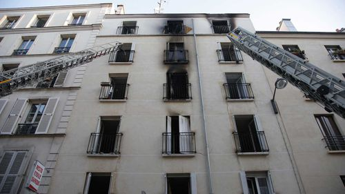 Eight dead in Paris apartment fire