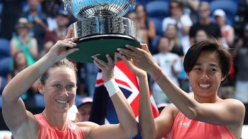 Australian Open Day 12 Sam Stosur Doubles Final Win