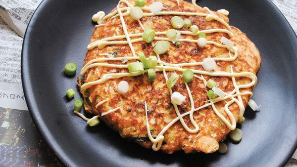 Low-carb Japanese pancakes